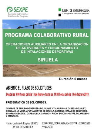 Programa colaborativo rural.