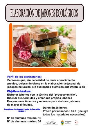 Curso 'Elaboración de jabones ecológicos'.