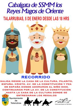 Cabalgata de su SSMM los Reyes Magos.