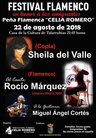 Festival Flamenco 'Peña Celia Romero'.