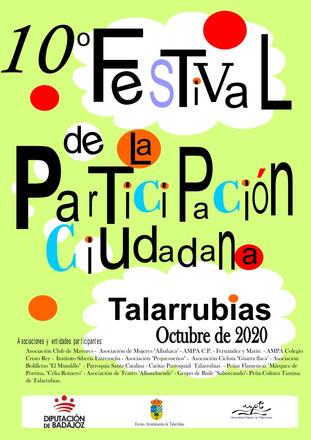 10º FESTIVAL DE LA PARTICIPACIÓN CIUDADANA.