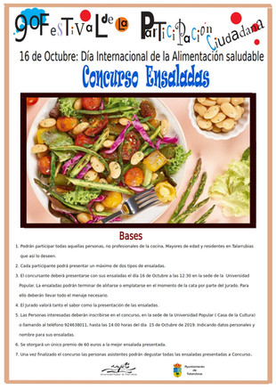 Concurso de ensaladas.
