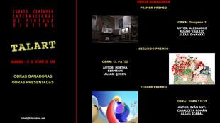 4º Certamen Internacional de Pintura Digital 'TALART'.
