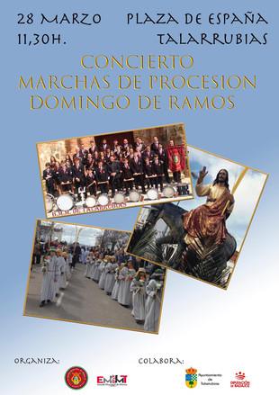 CONCIERTO MARCHAS DE PROCESION DOMINGO DE RAMOS.