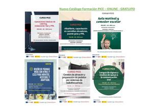La Cámara de Comercio de Badajoz, lanza un nuevo catálogo de formación PICE ONLINE.
