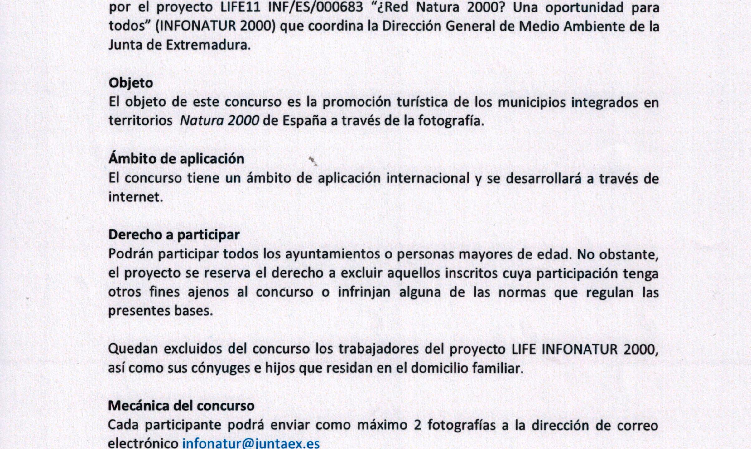CONCURSO RED NATURA 2000-1