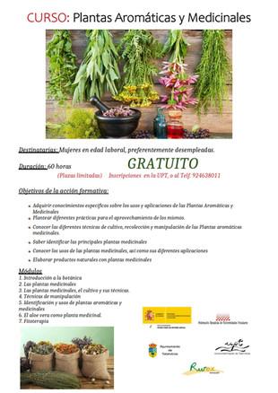 Curso: Plantas aromáticas y medicinales.