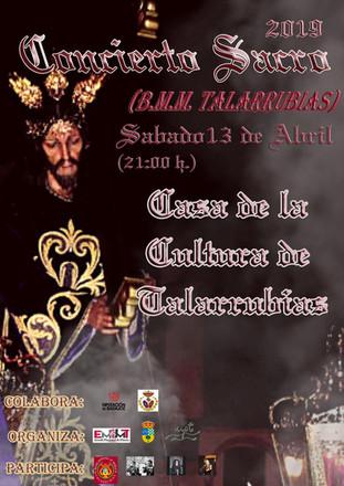 Concierto Sacro 2019 (B.M.M. Talarrubias).