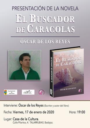 Presentación de la novela 'El buscador de caracolas'.