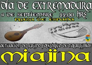 Acto de celebración del Día de Extremadura.