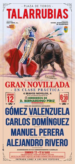 Novillada Feria de Mayo 2018.