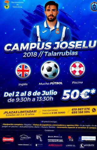 Campus de fútbol 'Joselu 2018'.