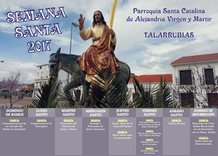 Semana Santa de Talarrubias 2017.