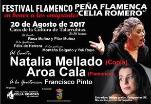 Festival Flamenco en honor a los Emigrantes.