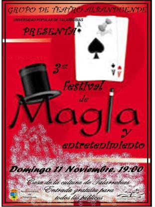 III Festival de magia y entretenimiento.