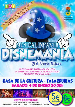 Musical Infantil: 'Disnemanía'.