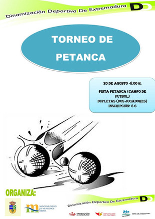 Torneo de Petanca.