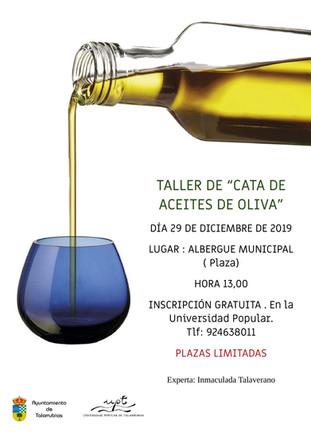 Taller de cata de 'Aceites de Oliva'.