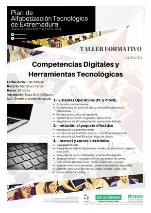 Taller de Competencias Digitales.