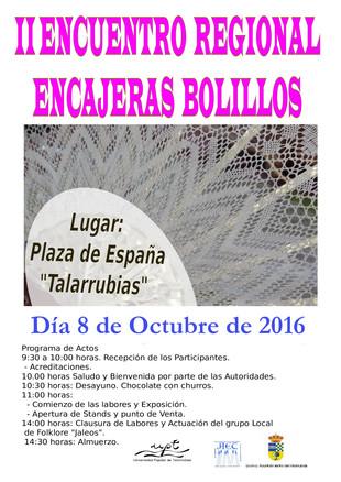 II Encuentro Regional Encajeras Bolillos.