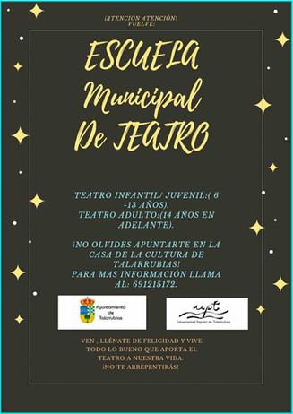 ESCUELA MUNICIPAL DE TEATRO.