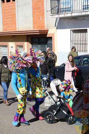 Galería fotográfica desfile de Carnaval 2018.