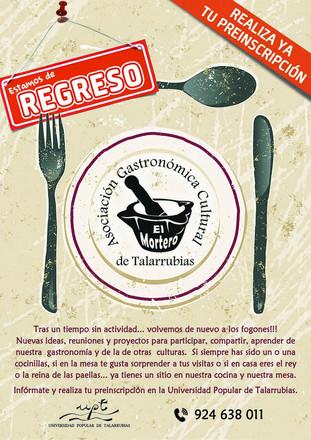 Asociación Gastronómica Cultural de Talarrubias 'El Mortero'.