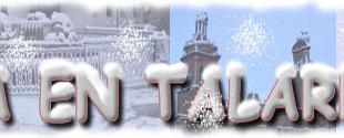 Nieva en Talarrubias.