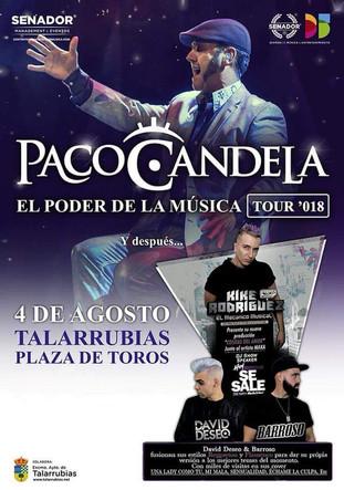 Concierto de Paco Candela en Talarrubias.