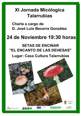 XI Jornada micológica de Talarrubias.