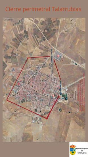 Cierre perimetral de Talarrubias