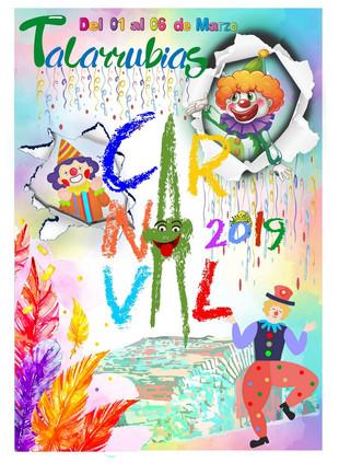 Cartel ganador y Programa Carnaval 2019