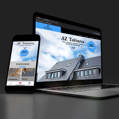 Website AZ Toitures