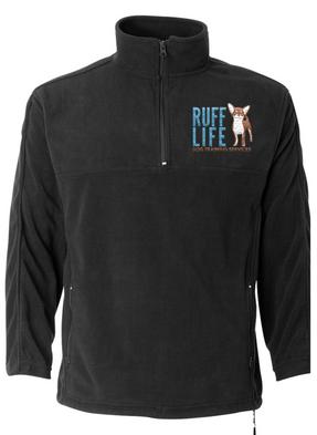 Ruff Life Half Zip Fleece Pullover