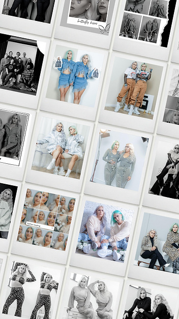 Multi Polaroid Template Instagram Story.