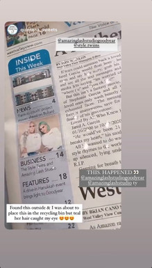 WEST VALLEY VIEW ARTICLE JAN. 2021