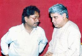 Pandit Vikash Maharaj,Javed Akhtar,writer,Poet,lyrics,sarod,akhtar,javed,vikash,maharaj,varansi,pvchr,kabir,humanrights,classicalmusic