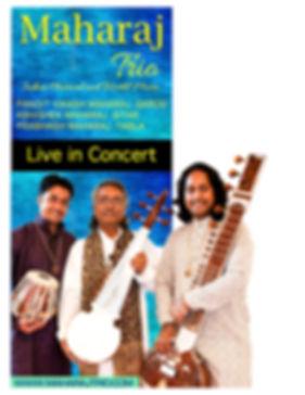 Maharaj Trio Flyer, Maharaj Trio Poster