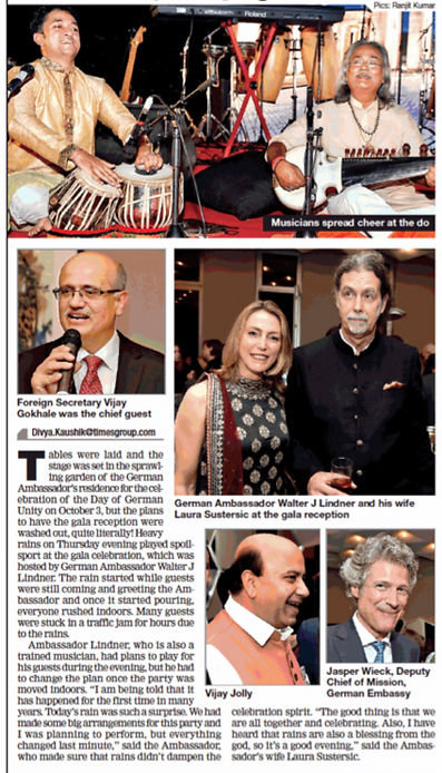 Maharaj Trio at Celebration of German U