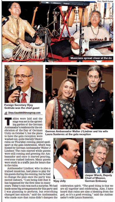 Maharaj Trio at Celebration of German U