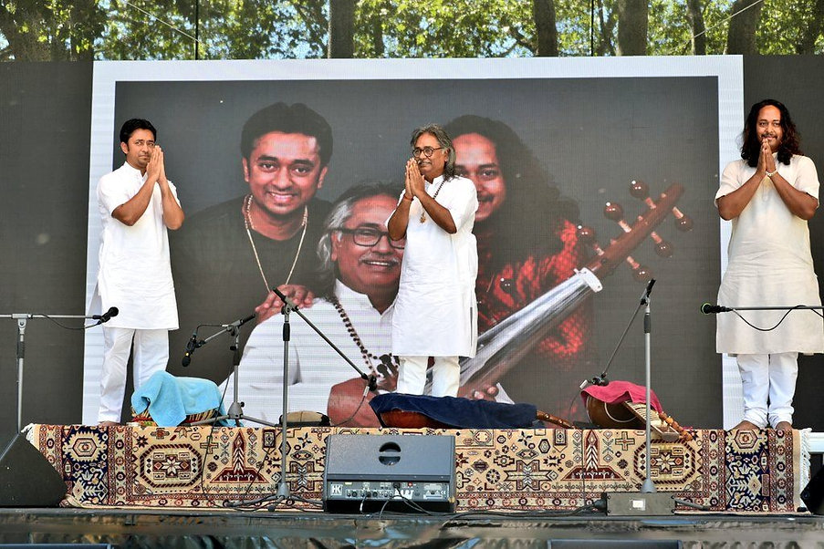 Maharaj Trio Live at India Fest in Cologne, Germany