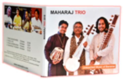 MAHARAJ TRIO CD, CD, MAHARAJTRIO, NEW RELEASE, BUYONLINE, UNTOUCHED MUSIC OF BANARAS