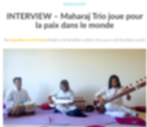 MaharajTrio, Maharaj Trio Interview, Interview, Music for world peace, Padit Vikash Maharaj, Maharaj, Vikash, Prabhash Maharaj, Abhishek Maharaj, Sarod, Sitar, Tabla, UNESCO, PEACE, MUSIC FOR PEACE, INDIAN SUPERSTARS, TRIO MAHARAJ, BANARAS, KASHI, VARANASI