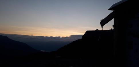 Tramonti dal Rifugio Alpe Piazza