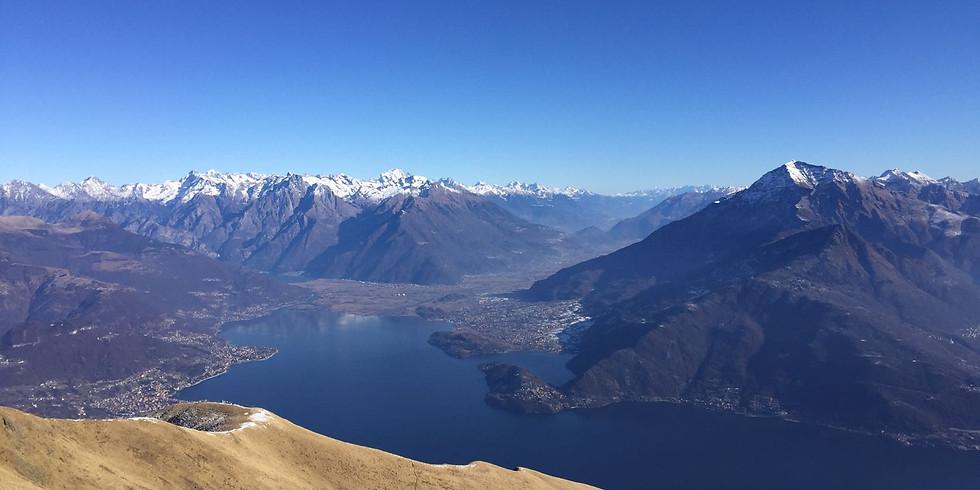 Trek di 2 giorni - Panorami autunnali sul lago di Como