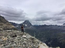 Val d'Aosta - verso il ghiacciaio del Vaufrede