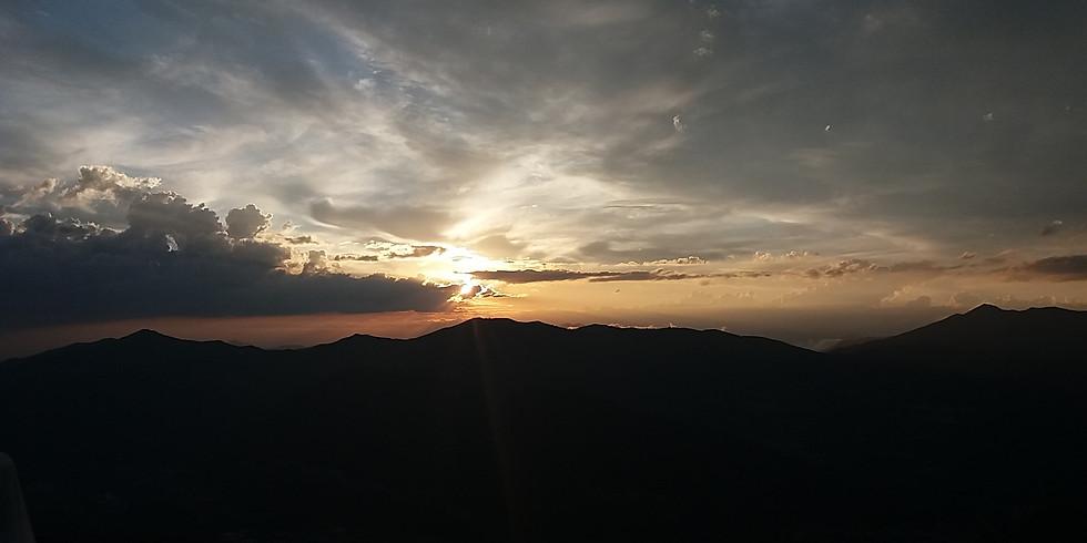 Ciclo trekking sotto le stelle: aperitivo al tramonto a San Calimero