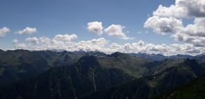 Panorama dal Monte Lago