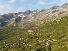 il rifugio Omio in Val Masino