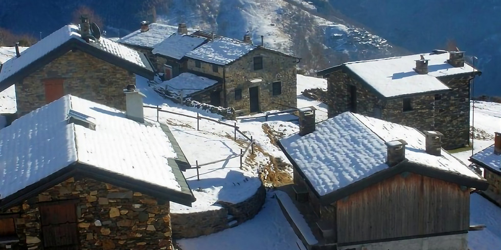 La magia del Natale in montagna - presepi sull'acqua a Crodo